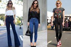 Jeans cintura alta: veja inspirações para usar a peça em qualquer ocasião
