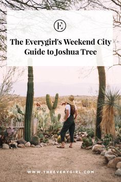The Everygirl's Weekend City Guide to Joshua Tree - - BRB packing our bags asap. Oh The Places You'll Go, Places To Travel, Travel Destinations, Places To Visit, San Diego, California Travel, Palm Springs California, Southern California, Adventure Is Out There