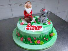 Torta di compleanno realizzata da Le torte di Sissi. Inviaci anche tu la tua torta tramite la nostra App gratuita per iPhone e Android.