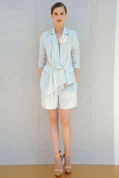 Rachel Roy Spring 2012. That jacket!