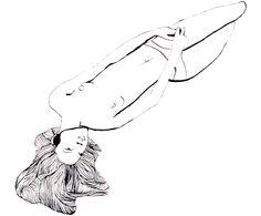 Ink on paper. By Karen Lotz