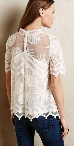 Inspiration only pina lace top