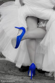 Blue Shoes on Flickr.