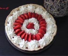 Tarte aux fraises et sa ganache à l'amande