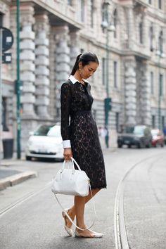 Love the dress: Milan Fashion Week- Italian Street Style 2013