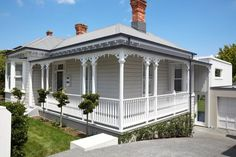 The renovation of this traditional Herne Bay villa won an NZIA Auckland Architecture Award for Gerrad Hall Architects.