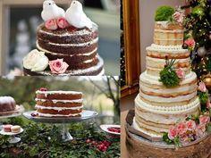 Boa tarde Leitoras ! Para quem ainda não conhece essas obras perfeitas mais conhecidas como NAKED CAKES ,são bolos lindos e super decorados que os europeus utilizavam a mais de 10 anos.Já deu pra n…