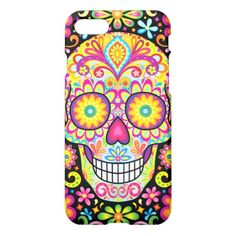 Sugar Skull iPhone 7 / 6S Case - Day of the Dead