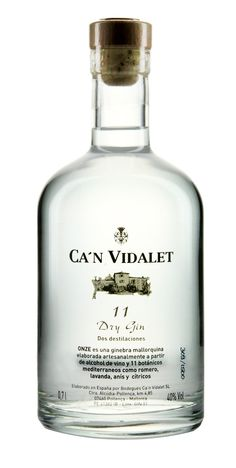 Can Vidalet Onze Dry Gin PD