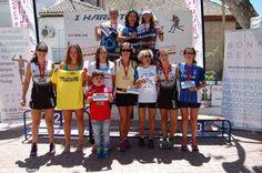 """Féminas del Club Atletismo Sexitano en el """"Hard Trail Güetor Sierra"""""""