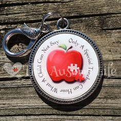 Autism Keepsake Keychain for Teachers Great by ThisAUsomeLife