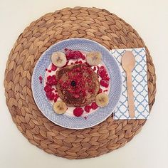 Gorgeous Friday oat + #chia pancakes from Real & Not Perfect this way -->  #nutrition #fitfam
