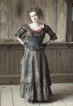 mrs lovett!   cannibalism, baked goods and burning oven deaths await. Perhaps also a touch of madness :D