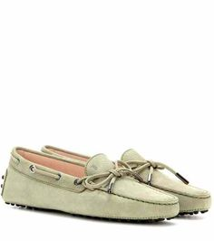 Heaven New Laccetto suede loafers | Tod's