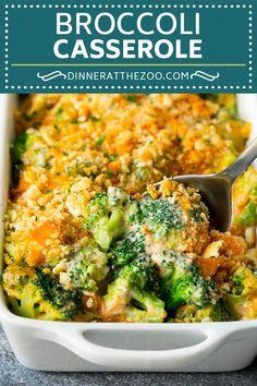 Broccoli Casserole Recipe | Broccoli and Cheese Casserole | Baked Broccoli #broccoli #cheese #casserole #sidedish #dinner #dinneratthezoo #broccoliandcheese