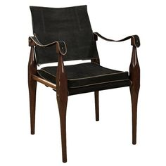 Yeah, this chair is part of the evolution and iconography of modern furniture design.  The Roorkhee Campaign chair.  Designed to be quickly taken apart, rolled, and reassembled by the British officers of the Indian Army Corps of Engineers stationed in Roorkhee, India.  1890.  Startling for the Victorian period, still made in leather or canvas.