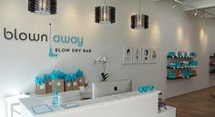Hairstyles, blowouts and makeup bar. No cut, no color salon! | Blown Away Blow Dry Bar
