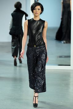 Okay, so I'd wear just about anything from Derek Lam's Fall 2012.