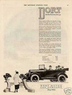 Dort Car Ad (1921).