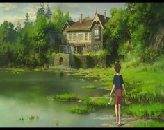 Studio Ghibli Releases English Trailer For Its Final Feature Film, 'When Marnie Was There' - Pedestrian TV Studio Ghibli Films, Art Studio Ghibli, Hayao Miyazaki, Film Animation Japonais, When Marnie Was There, Film Anime, Anime Art, Film D'animation, Film Stills