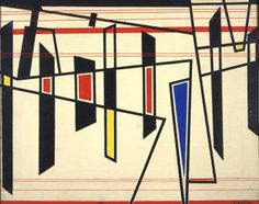 Gianni Bertini Senza titolo, 1950 Olio su tela, 50 X 41 cm Gallerie d'Italia - Piazza Scala, Milano