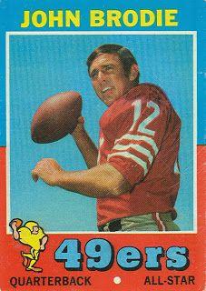b0ed5db1145 🏈49er Nation🏈 SF niners John Brody Football Cards