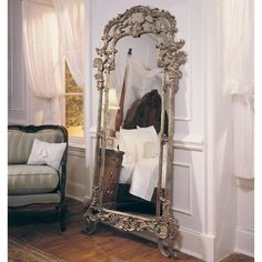 Have to have it. Jessica McClintock Heirloom Floor Mirror But not in stock, good price too