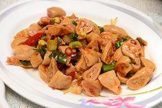 spicy pork intestines | Taiwanese cuisine