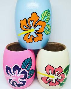 """Donatella Art & Design on Instagram: """"Mates #flores #hawaii en sus tres combinaciones! 🌺 Buen #miercoles para todos!!"""""""