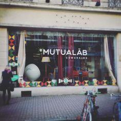 Au @mutualab de #lille ! Vous #bossez où aujourd'hui ? #travail #freelance #entrepreneur #coworking