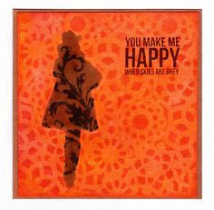Tangerine Dream By Fliss Goodwin   That's Blogging Crafty!