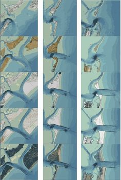 Digital elaborations for cartographic reconstruction: The territorial transformations of Venice harbours in historical maps.