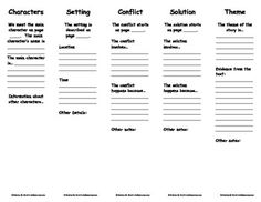 Printables Literary Elements Worksheet literary terms and printables on pinterest bookmarks