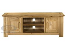 Contemporary Oak TV Unit | TV Stands | Oak Furniture Company