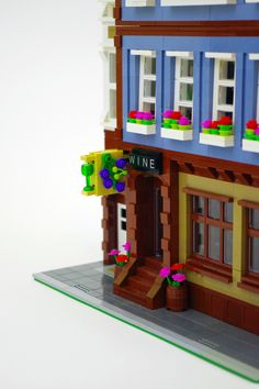 Modular Lego Wine Shop
