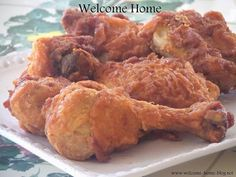 Welcome Home: Southern Fried Chicken
