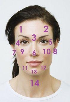 ¿Han notado que en cierto punto del mes una parte específica de tu cara se llena de espinillas? Bueno, esto se debe a los cambios hormonales de nuestro ciclo menstrual. Sin embargo, cuando un día aleatorio te sale un grano, o manchas, en una zona poco común de la cara, es importante que prestes atención.