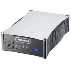 """3.5"""" LanDisk, IDE to USB / RJ45, NAS, FTP / SAMBA Server by Mapower. $34.99. The Mapower KC31NU2 is a NAS enclosure that can be set up as a FTP server, SAMBA server or a normal external hard drive. Share your files across a network or the internet. This enclosure contains an internal IDE to USB 2.0 or RJ45 (network port), 4 LEDs lights to monitor operating status and can support up to 750GB Hard drive in FAT32 format only (formatting software included). This e..."""