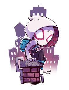Chibi Spider-Gwen by DerekLaufman on DeviantArt