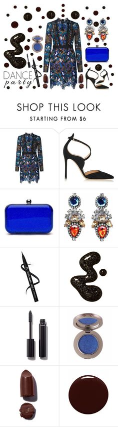 """""""Party Monster - The Weeknd"""" by latoyacl ❤ liked on Polyvore featuring self-portrait, Gianvito Rossi, Chanel and Givenchy"""