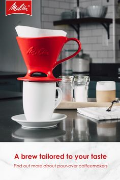 With Melitta Pour Over Coffeemakers You Can Easily Make A Cup Of Rich