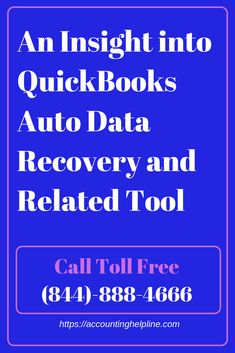 In this article we will show you how you can implement the basic steps to recover lost QuickBooks data using QuickBooks Auto Data Recovery Tool.