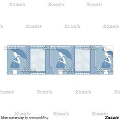 blue maternity bumper sticker
