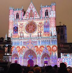 Illumination de la Cathédrale Saint Jean
