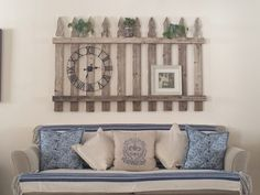 Old picket fence put to good use.