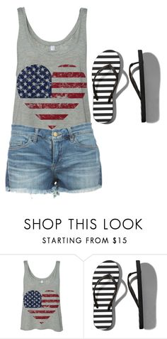 """""""Fourth of July"""" by kaitlyns0512 on Polyvore featuring Abercrombie & Fitch, women's clothing, women, female, woman, misses and juniors"""