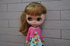Cute cardigan for DollsRose red by susa on Etsy, $22.00