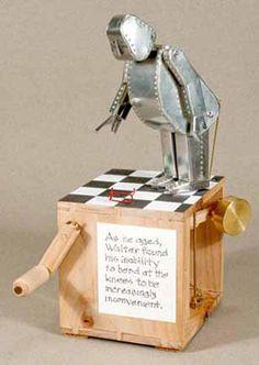 Robot automaton by Marc Horovitz