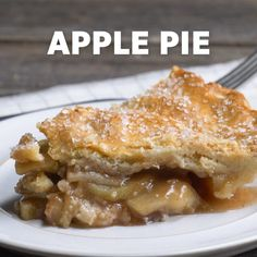 Very juicy apple pie. Recipes sweets and desserts. Very juicy Apple pie. Recipes of sweets and desserts. Homemade Apple Pies, Apple Pie Recipes, Sweets Recipes, Baking Recipes, Baking Desserts, Cake Recipes, Apple Pie Recipe Video, Pastry Recipes, Healthy Recipes