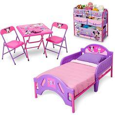 delta children disney minnie mouse multi-bin toy organizer